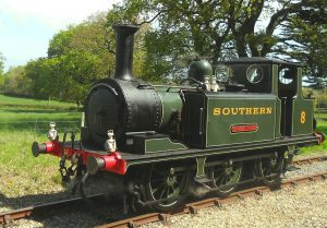 Steam locomotive sounds for SR Terrier 0-6-0 Tank