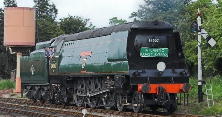 DCC Chips for Unrebuilt West Country 4-6-2