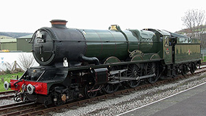 DCC loco sound for GWR King 4-6-0 by Locoman