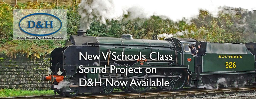 V schools class sound decoder dcc