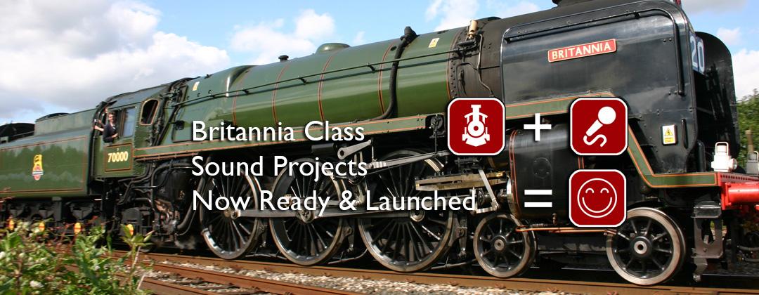 Britannia Class DCC Sound Decoder