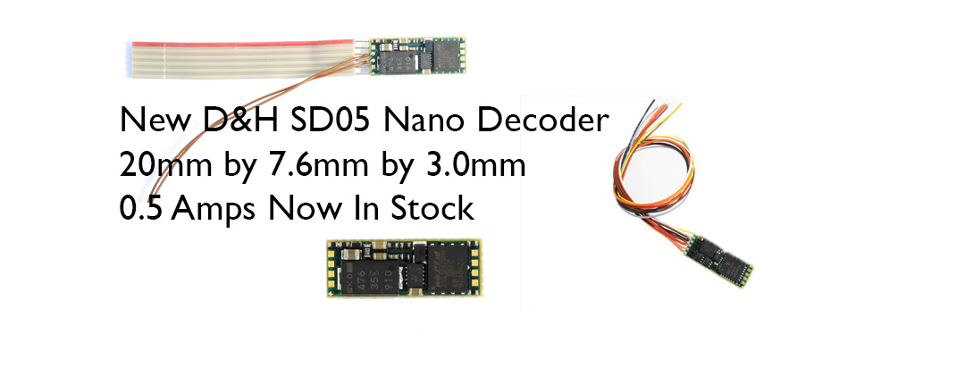 SD05 DCC Sound Decoder