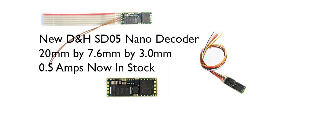 SD05 DCC Sound Decoder