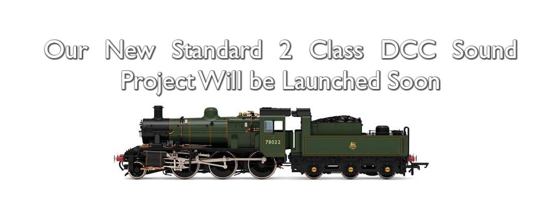 Standard 2 Class DCC Sound Decoder