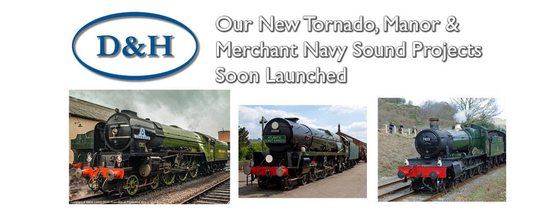 d and h tornado manor merchant navy dcc sound decoders